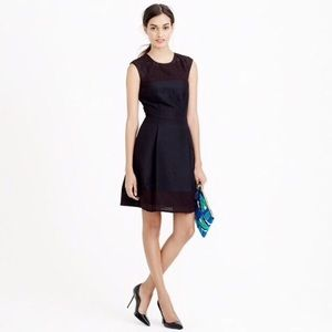 J. Crew • Perforated A-Line Dress